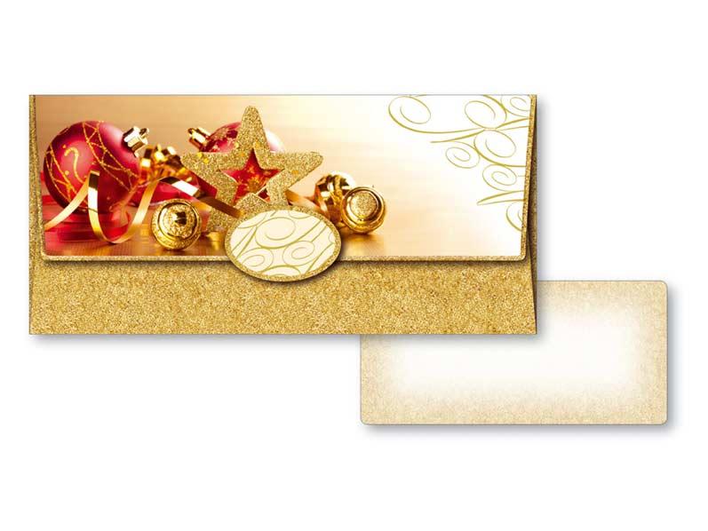 Obálka na peniaze vianočná 88-001 W