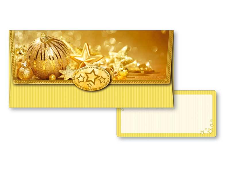 Obálka na peniaze vianočná 88-002 W