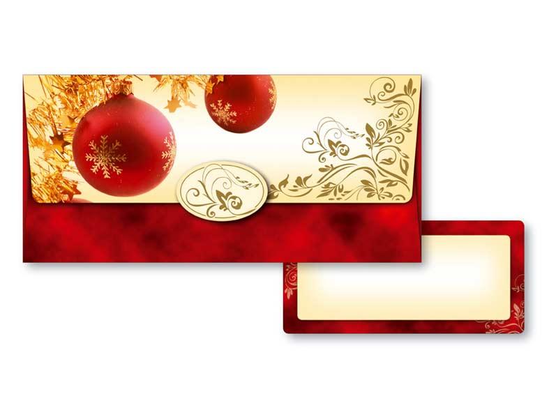 Obálka na peniaze vianočná 88-003 W