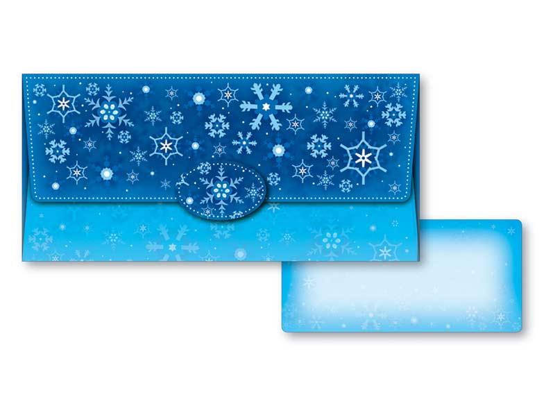 Obálka na peniaze vianočná 88-004 W