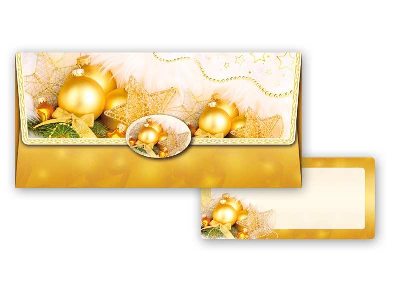 Obálka na peniaze vianočná 88-006 W
