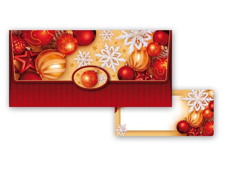 Obálka na peniaze vianočná 88-007 W