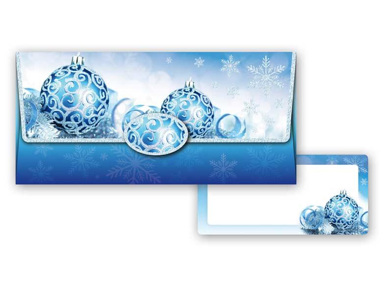 Obálka na peniaze vianočná 88-008 W