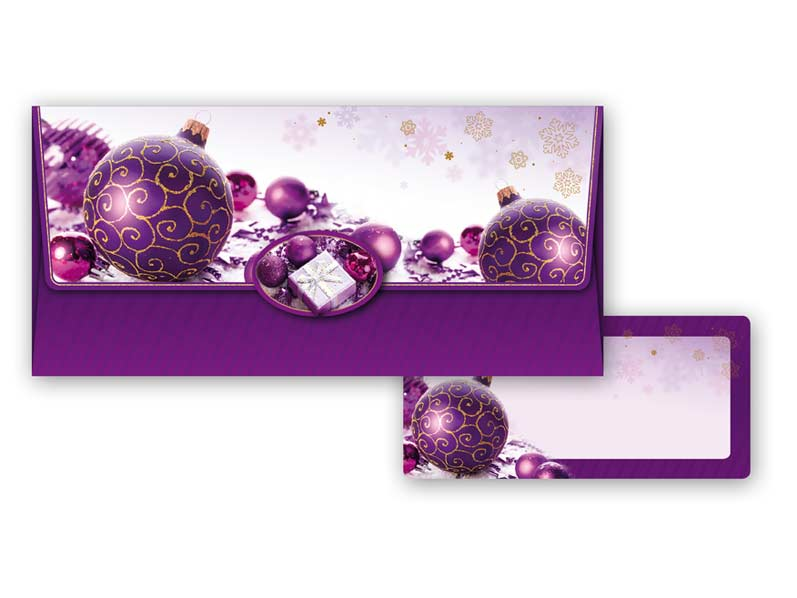 Obálka na peniaze vianočná 88-010 W