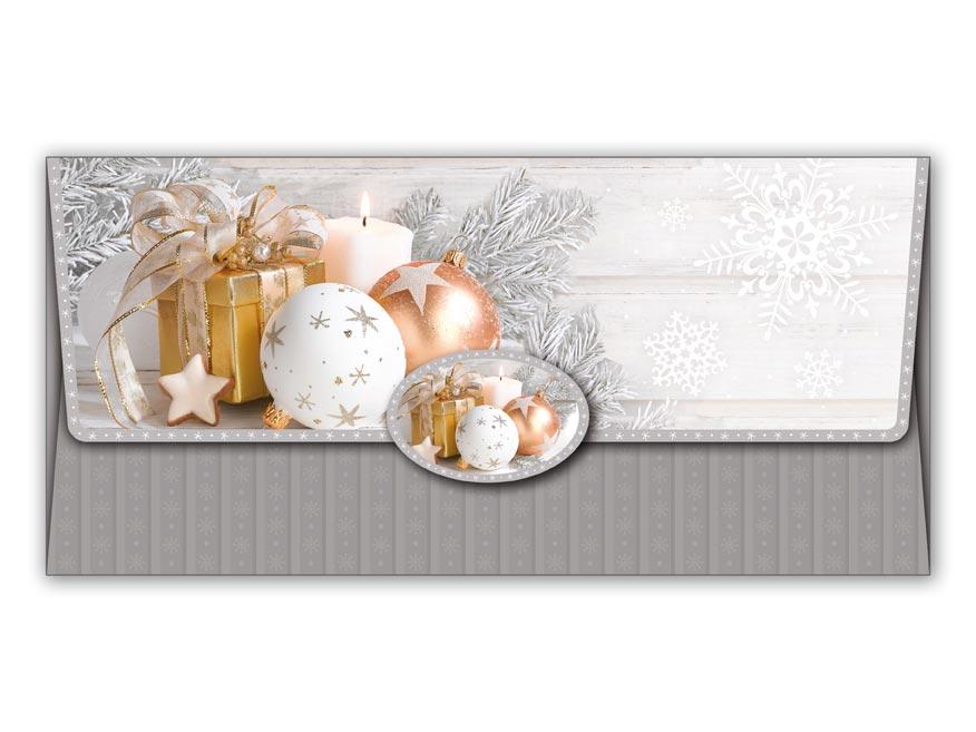 Obálka na peniaze vianočná 88-011 W