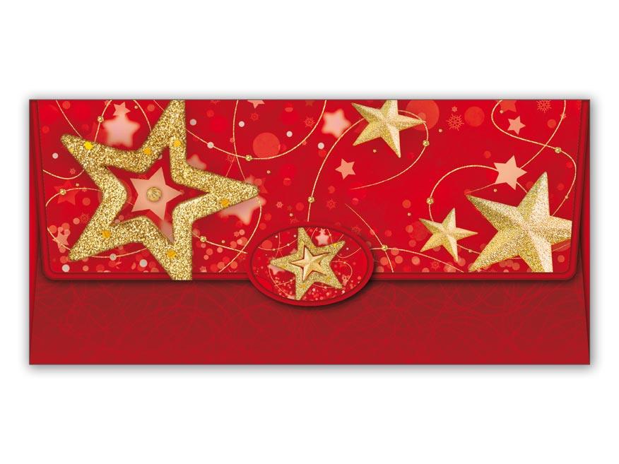 Obálka na peniaze vianočná 88-012 W