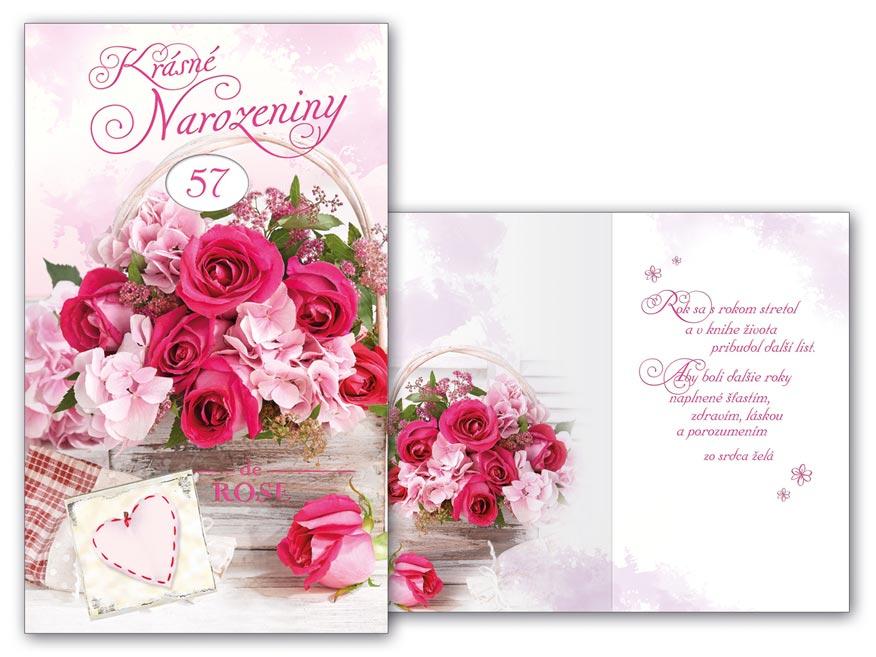 SK Blahoželanie k narodeninám otočné M11-476 W