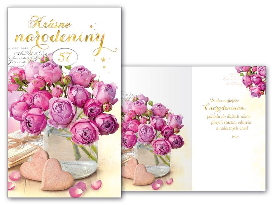 SK Blahoželanie k narodeninám otočné M11-479 W