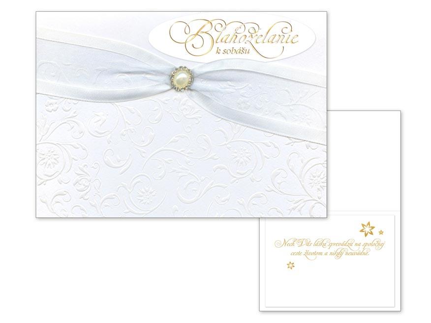 SK Blahoželanie svadobné CN-509