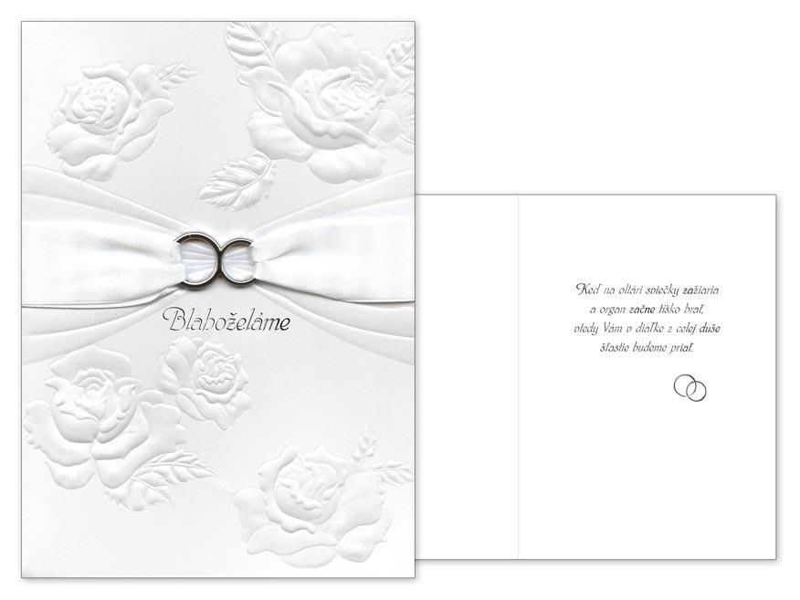 SK Blahoželanie svadobné  CN-507