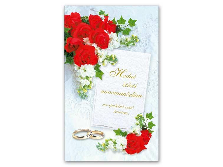 SK Blahoželanie svadobné malé 18-135 Z